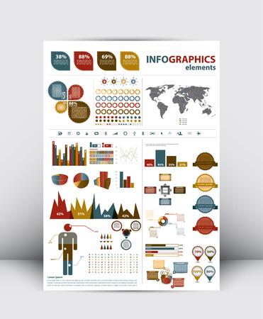 3d High Quality Modern Infographics Element