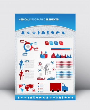 3d High Quality Medical Infographics Element