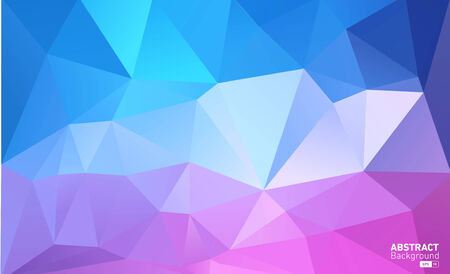 Abstract Triangle Geometrical Background Multicolour Illustration