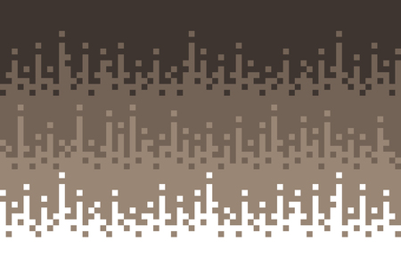 Retro, abstract square blocks background, pixels background, Vector design.