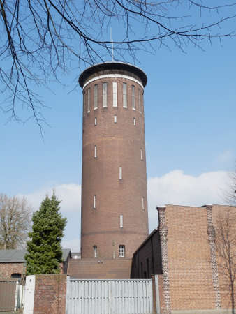 Old water tower in Wesel