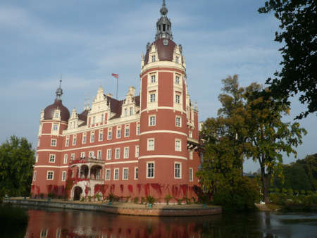 Red Castle in Muskau park