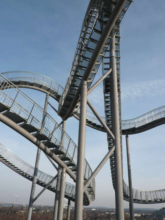 Landmark Tiger and Turtle in Duisburg Germany