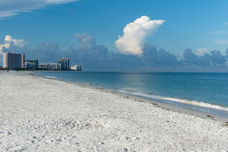 Above Clearwater Beach its going to thunderstorm, Pinellas County, Florida