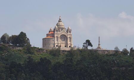 Santa Luzia Cathedral in Viana do Castelo, Minho, Portugal.