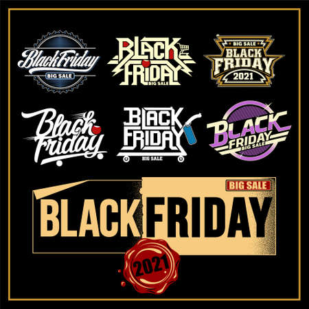 Black friday was created with vector format. Can be used for digital printing and screen printing