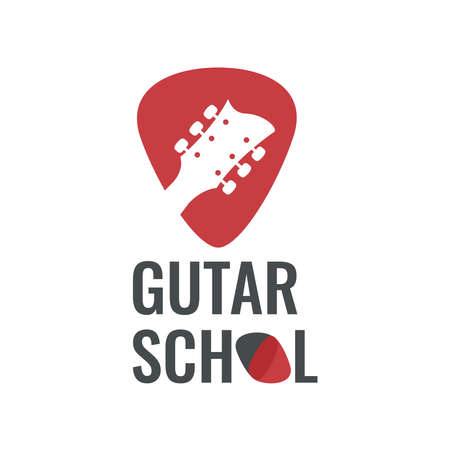 Vector logo best for music school, music blog. Ready for web and press