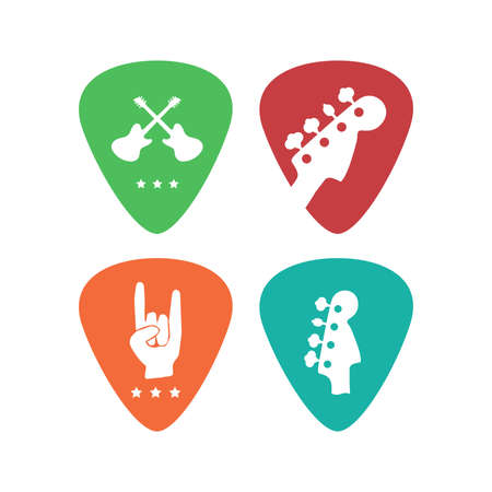 Vector icons best for musical instruments shop, music blog. Ready for web and press