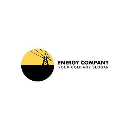 Energy company logo. Illustration