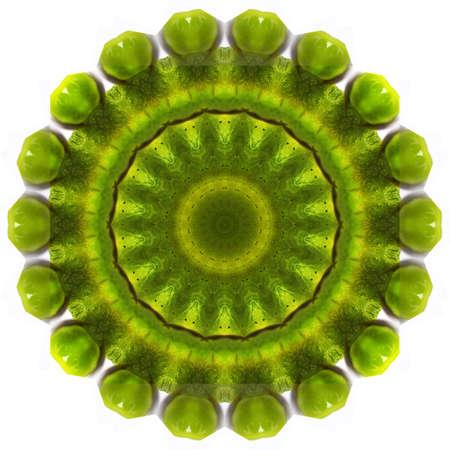 kaleidoscope, mandala colorful background for creative design