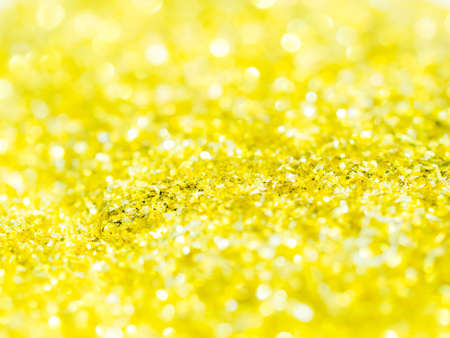 Abstract gold glitter background with copy space
