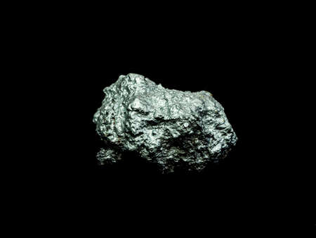 macro silver ore from silver mining , Precious stone Stok Fotoğraf - 90177030