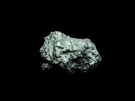 macro silver ore from silver mining , Precious stone