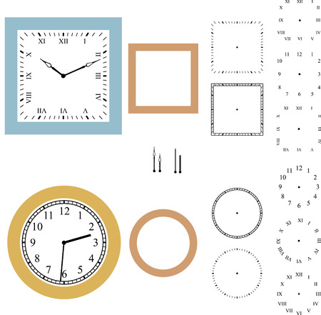 12 o'clock: Vector clock constructor Illustration