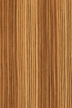 Texture of zebrano (high-detailed wood texture series) Standard-Bild