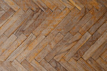 bad condition: Background with old parquet in bad condition