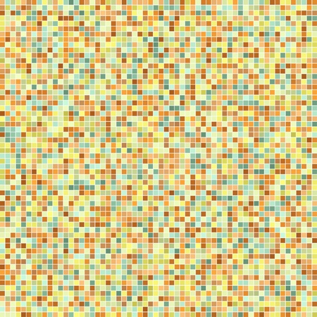 seamless tiles background. Mosaic pattern with random color variations.