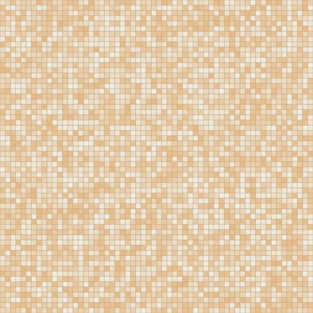 Nahtlose Fliesen Hintergrund. Mosaic Muster mit zufälligen Farbvariationen. Für Mosaik-Schriftart (siehe Portfolio). Standard-Bild - 8687712