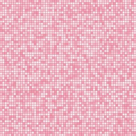 Nahtlose Fliesen Hintergrund. Mosaic Muster mit zufälligen Farbvariationen. Für Mosaik-Schriftart (siehe Portfolio). Standard-Bild - 8687711
