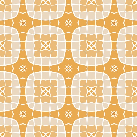 seamless colourful ornamental background made of mosaic Stock Vector - 8779092