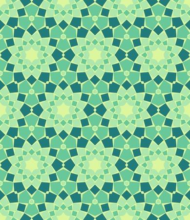 mosaic tile: Seamless colorato sfondo ornamentale, fatto di mosaico