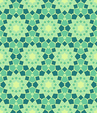 seamless colourful ornamental background made of mosaic Stock Vector - 8779094