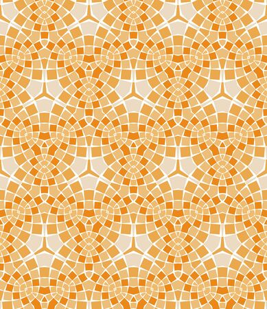 seamless colourful ornamental background made of mosaic Stock Vector - 8779096