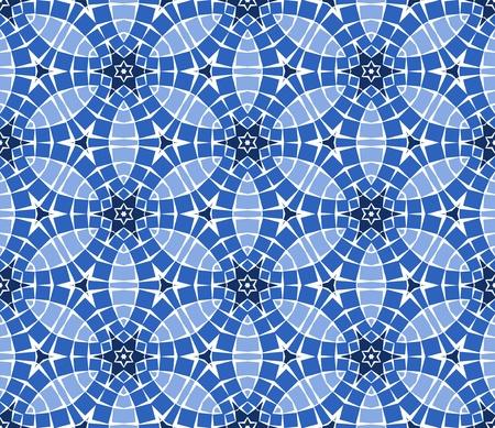Nahtlose colourful ornamental Background gemacht von Mosaik Standard-Bild - 8779120