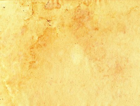 Aged grungy brown paper background with stains