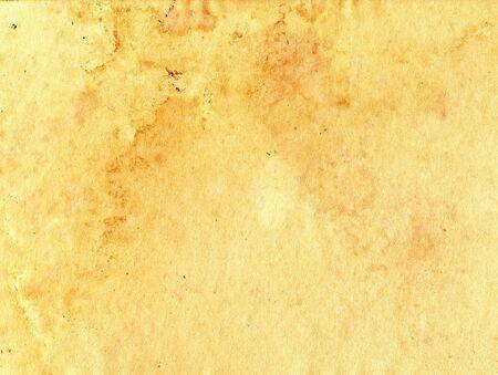 Bejahrt blatt braun Papierhintergrund mit Flecken Standard-Bild - 8779140