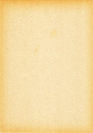 Alt bejahrt braun Papier mit dunklere Kanten Standard-Bild - 8779141