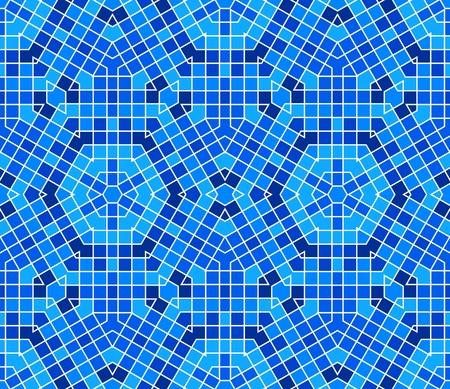 Nahtlose colourful ornamental Background gemacht von Mosaik Standard-Bild - 8779133