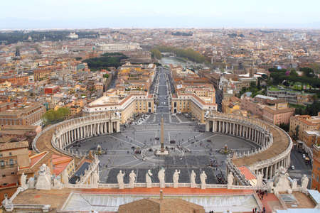 St. Peters Square at the Vatican