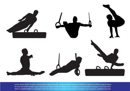 Gymnastics Stock Illustratie