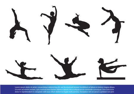 Gymnastics Ilustracja