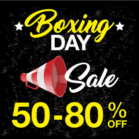 shoping bag: Boxing Day background