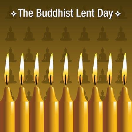 Buddhist background Illustration