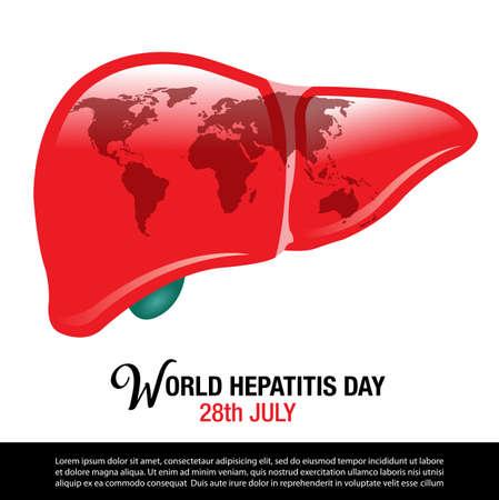 World Hepatitis Day background banner