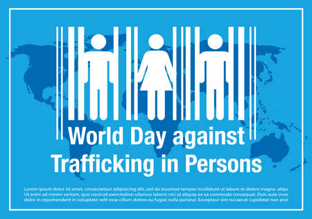 World Day against Trafficking in Persons banner