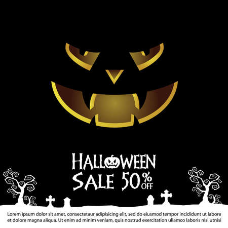 A halloween Sale background