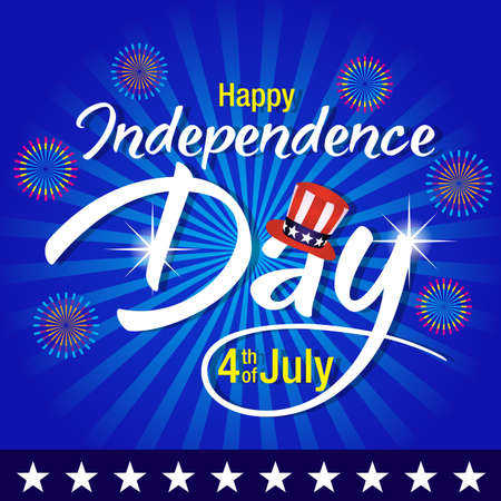4th of july background,Independence day of United States of America  Background Ilustração