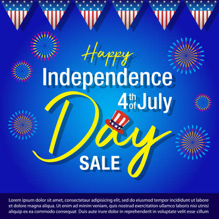 4th of july background,Independence day of United States of America  Background Фото со стока - 104229768