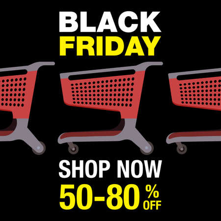 Black Friday background Фото со стока - 111477421