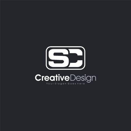 SC Logo Letter Initial SC abstract Logo Template Design Vector, Emblem, Design Concept, Creative Symbol design vector element for identity, logotype or icon Creative Design