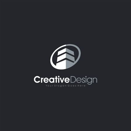 Construction Logo Design. Please kindly check it and download now letter symbol business company vector icon
