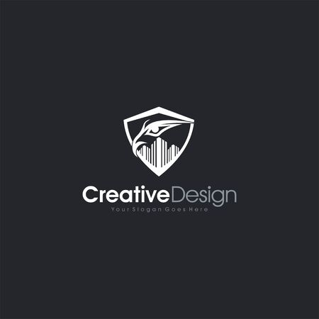 Eagle Logo Design Real Estate Design letter symbol business company vector icon