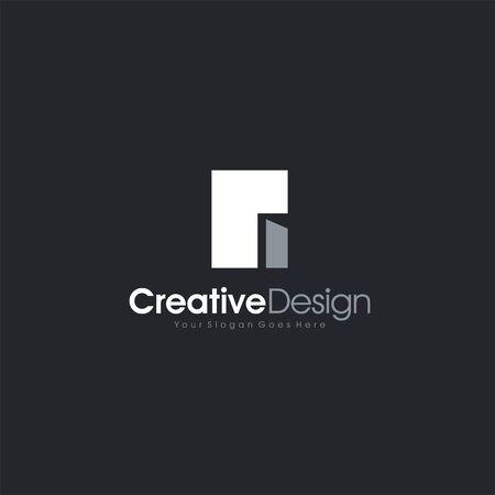 Real Estate city Simple Logo Icon Design letter symbol business company vector icon