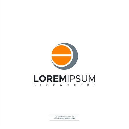 Initial Letter OE CE EC Logo template design. Minimalist letter logo vector Premium Design