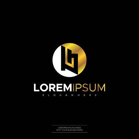 Logo design Initial LB L B Letter vector for construction, home, real estate, building, property creative design Concept