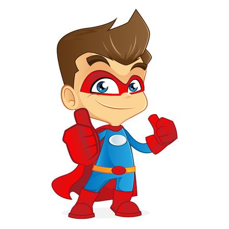 likes: Superhero giving likes